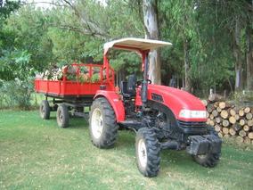 Tractor Dongfeng 40 Hp 4x4 Y Trayler O Permuto Por Ganado