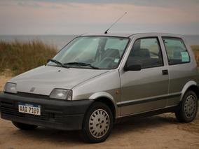 Fiat Cinquecento 98 Motor 1000 Cc Gris Papeles Al Día