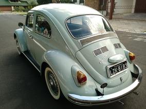 Volkswagen Fusca 1500 - 1970 / Placa Preta