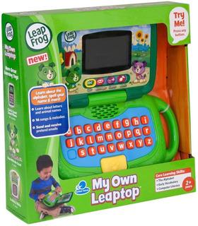 Mi Primera Pc Computadora Infantil Leap Frog 81304 Verde