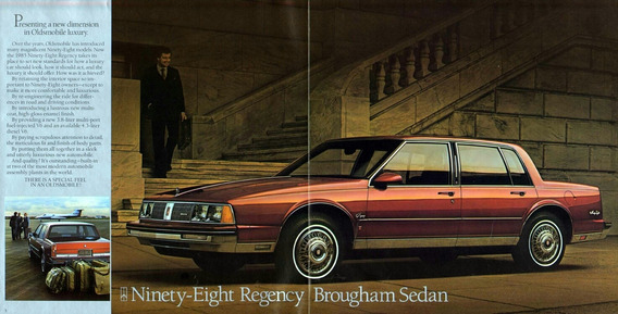 Oldsmobile 98 Regency Brougham