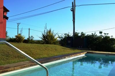 Alquilo Casa Frente Al Mar Con Piscina-excelente Vista- Muy Conforta