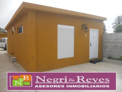 Alquiler En Playa Pascual Casas De 2 Dorm $ 14.000