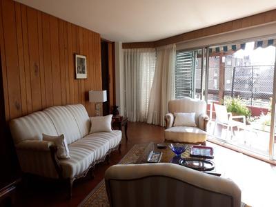 Alquiler - Apartamento Con Muebles - Pocitos - 3 Dormitorios