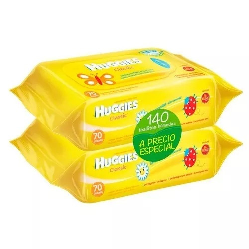 Huggies Toallitas Humedas Clas 140 Uni