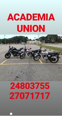 Academia Unión Clases De Moto G2-g3 Y Auto