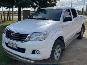 Toyota Hilux 2014 Motor 2.5 Blanca Doble Cabina