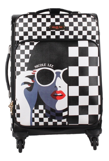 Valija Dama Nicole Lee Carry-on Lg1420 Lady In Sunglass