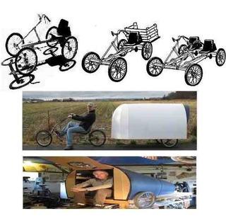 Planos Bicicletas Cuatriciclos + Trailers De Bicicleta