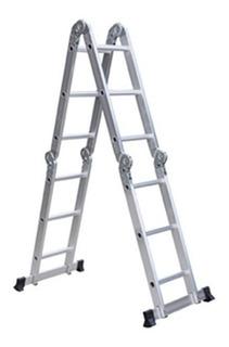 Escaleras Aluminio Andamio Multifuncion 3.4m 12 Escalones