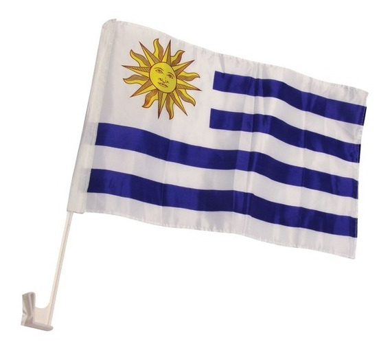 Bandera De Uruguay Para El Auto