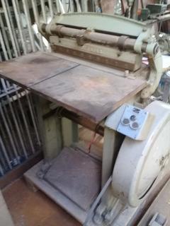 Máquina De Imprenta Troqueladora, Procedencia Alemana.