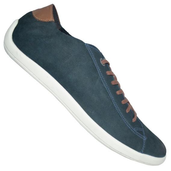Calzado Champión Goodyear Foss Azul Casual Urbano Cuero
