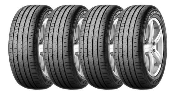 Juego 4 Cubiertas Pirelli 215/55 Vr18 Scorpion Verde Xl