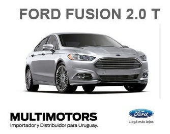 Ford Fusion Turbo - U$s39.990