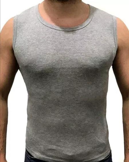 Musculosa Algodon De Hombre Gym Camiseta L A 3xl Remera