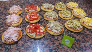 Minipizzetas 10 Cm Cong O Frescas (c/gustos)