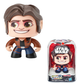 Mighty Muggs Hasbro Han Solo Similar Funko Pop 3 Caras-hb