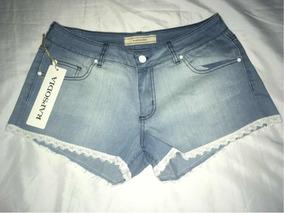 Short De Jeans Rapsodia Nuevo