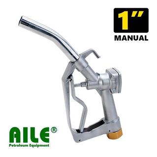 Pistola Surtidor Combustible Nafta Gasoil Manual P/gravedad