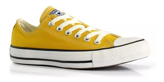 converse amarillo mostaza