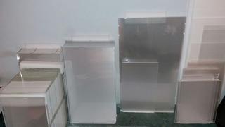 Placas De Acrílico Incoloras Transparentes 71x40x3mm