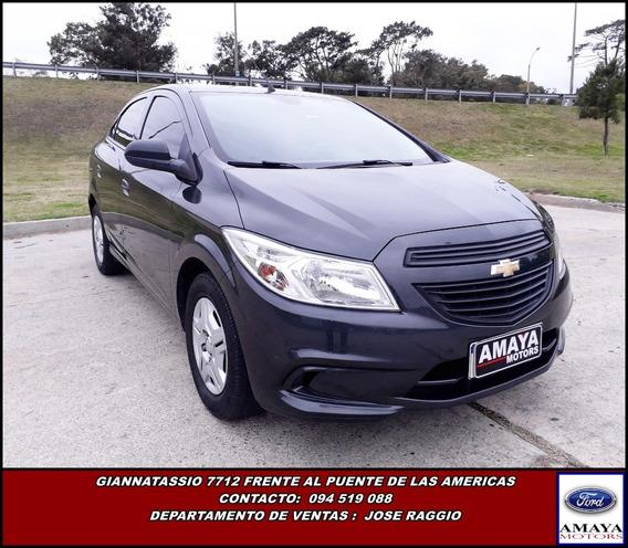 Amaya Chevrolet Prisma Joy 2017 Único Dueño Ficha Oficial