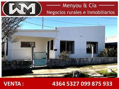 Venta Casa Trinidad Flores 2 Dormitorios 1 Baño A Nuevo