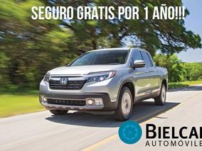 Honda Ridgeline 3.5 V6 4x4 Seguro Gratis Por 1 Año!!!