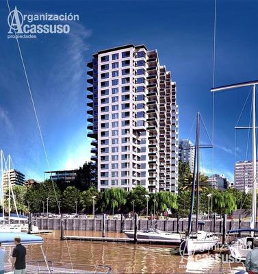 Departamento En Vicente Lopez. 3 Ambientes Con Vista Al Rio