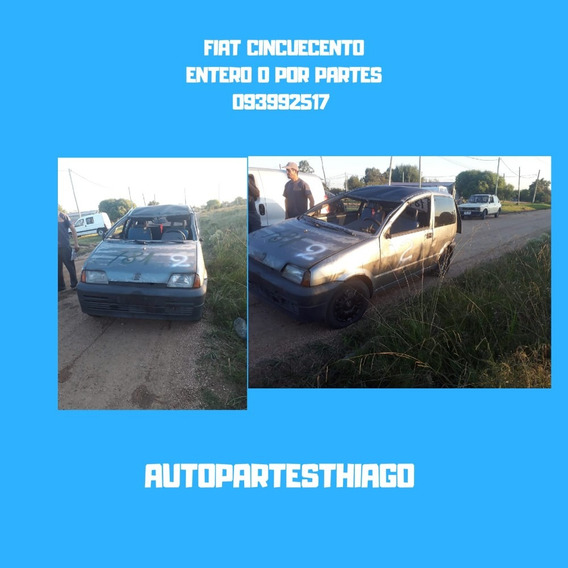 Fiat Cinquecento Por Partes 093992517 Sin Deuda