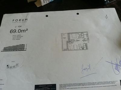 Estrena ;rambla Armenia. Apto 1 Dorm. Y Gge. Edificio Forum.