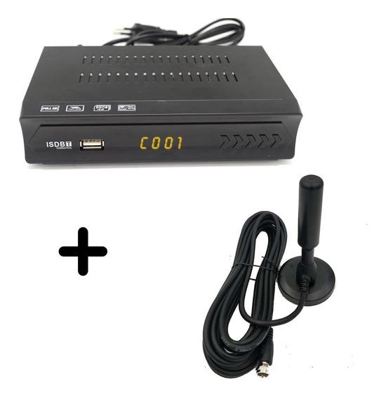 Antena Interior Tv Digital + Sintonizador Digital Full Hd