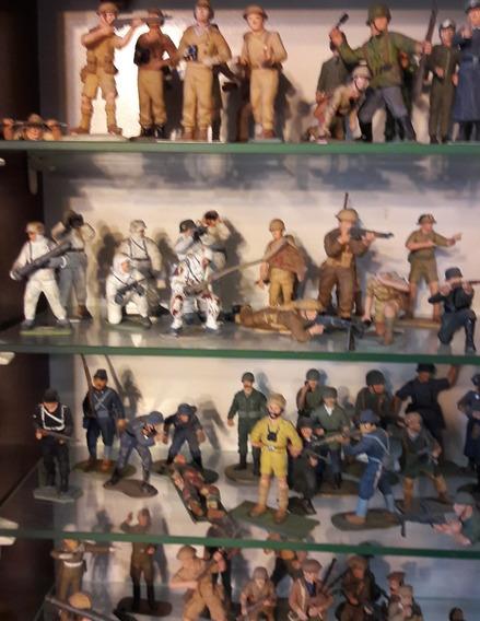 Soldados Pintados A Mano Heller Segunda Guerra Mundial C/u