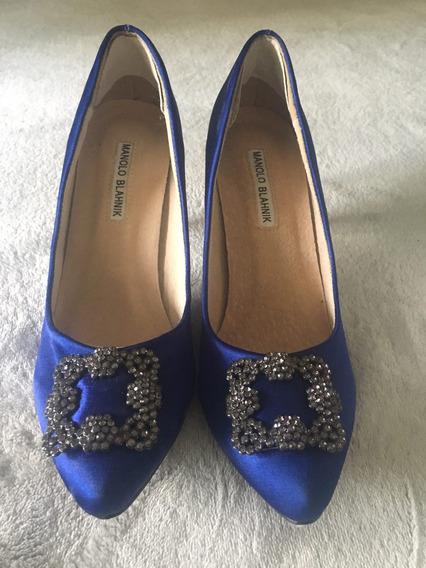 Stilettos Zapatos Manolo Blahnik Nuevos Divinos!!!