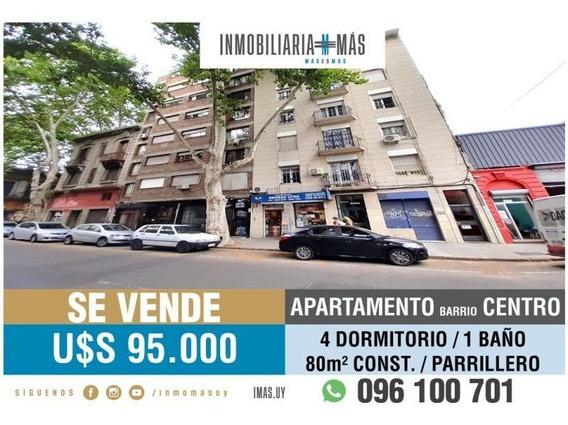 Apartamento Venta 4 Dormitorios Centro Imas.uy L *
