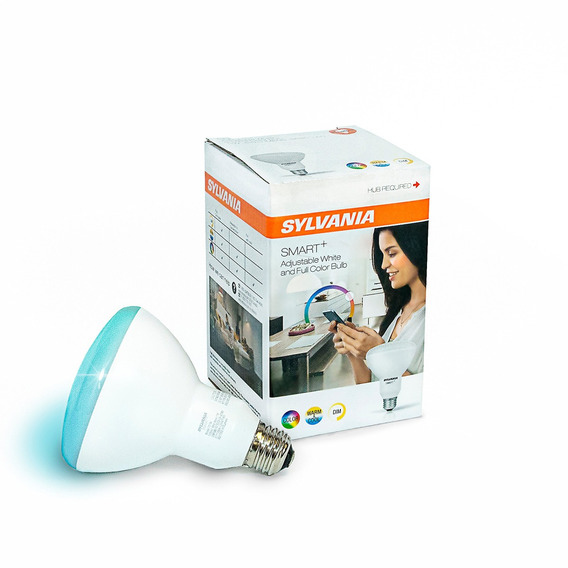 Sylvania Smart + Zigbee Full Color Br30 Bombilla Led, Fun