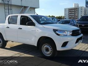 Toyota Hilux Dx Nafta 4x2 2017 Blanco No Permutamos