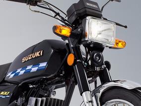 Moto Suzuki Ax100 2 Tiempos 4 Cambios La Reina Del Trabajo