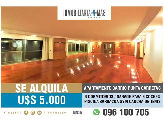 Apartamento Alquiler Punta Carretas Montevideo Greenfield A*