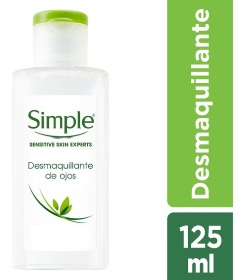 Desmaquillante De Ojos Simple 125ml