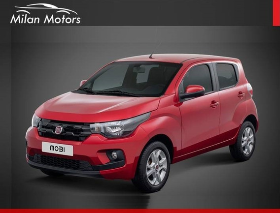 Fiat Mobi 1.0 Easy 0 Km 2019 - Financio Entrega Usd 5900 !!!