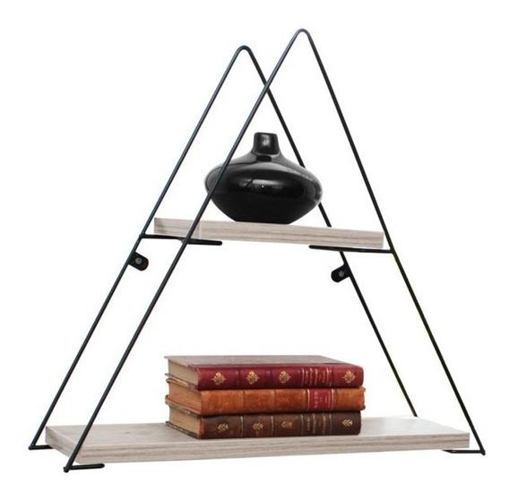 Repisa Estante Metaltru Diseño Moderno Triangular 49cm