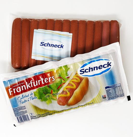 Frankfurters Schneck Cortos X 27 Unidades