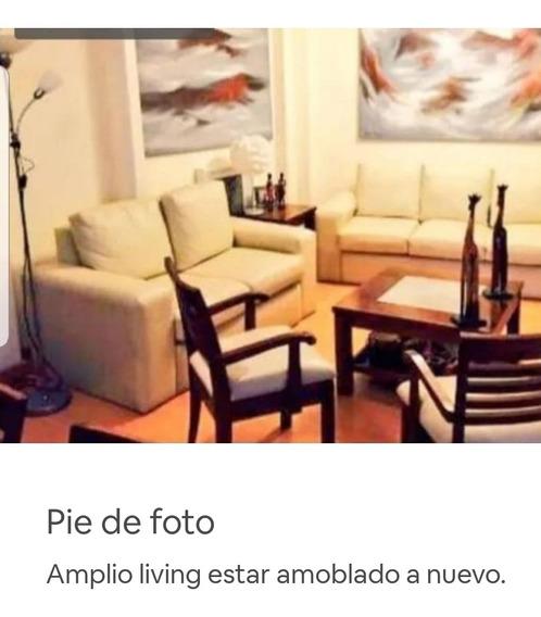 Apartamento Amoblado Pocitos - 3 Dormitorios. Espectacular