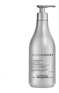 Shampoo Matizador Loreal Silver 500ml Grises, Blancos, Canas
