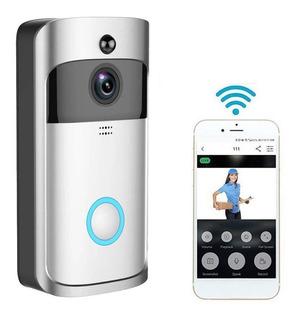 Timbre Con Video Portero Wifi + Bateria