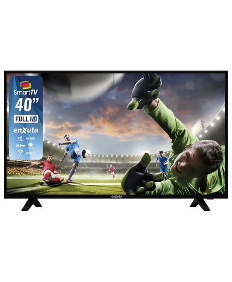 Televisor Led Enxuta 40 Smart Full Hd - Vía Confort