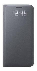 Flip Cover Led Samsung Galaxy S7 Negro