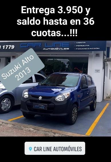 Suzuki Alto Permuto Financio Con Aire!!!